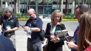 Pam Montanari Manages Successful Radio Compatibility Test